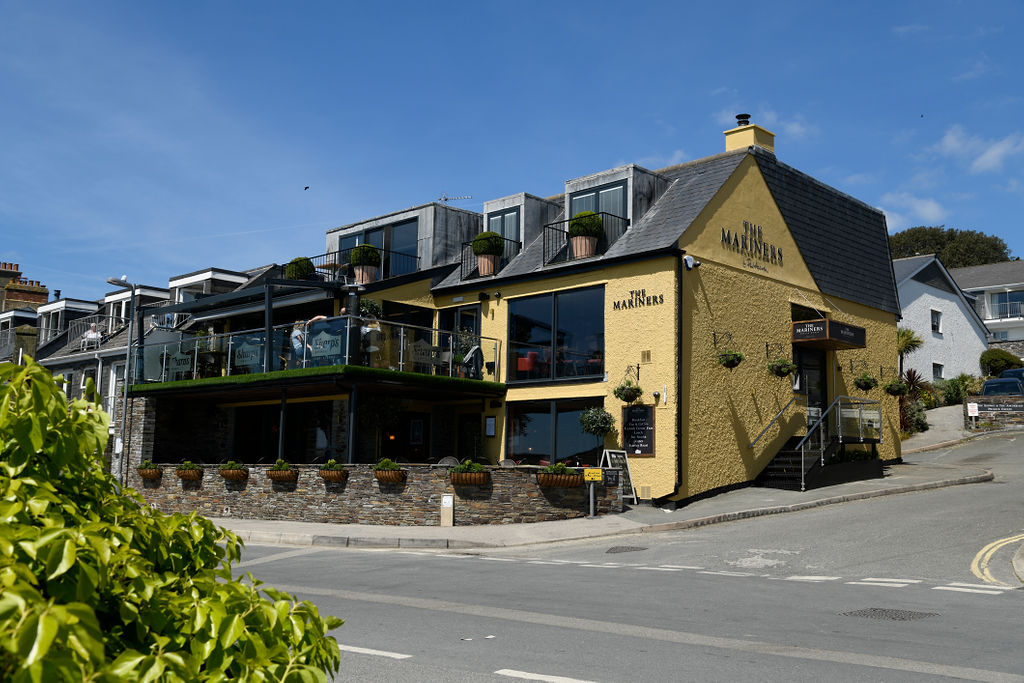 The Mariners Public House. On the waterfront, this is the perfect pub for a romantic evening out.